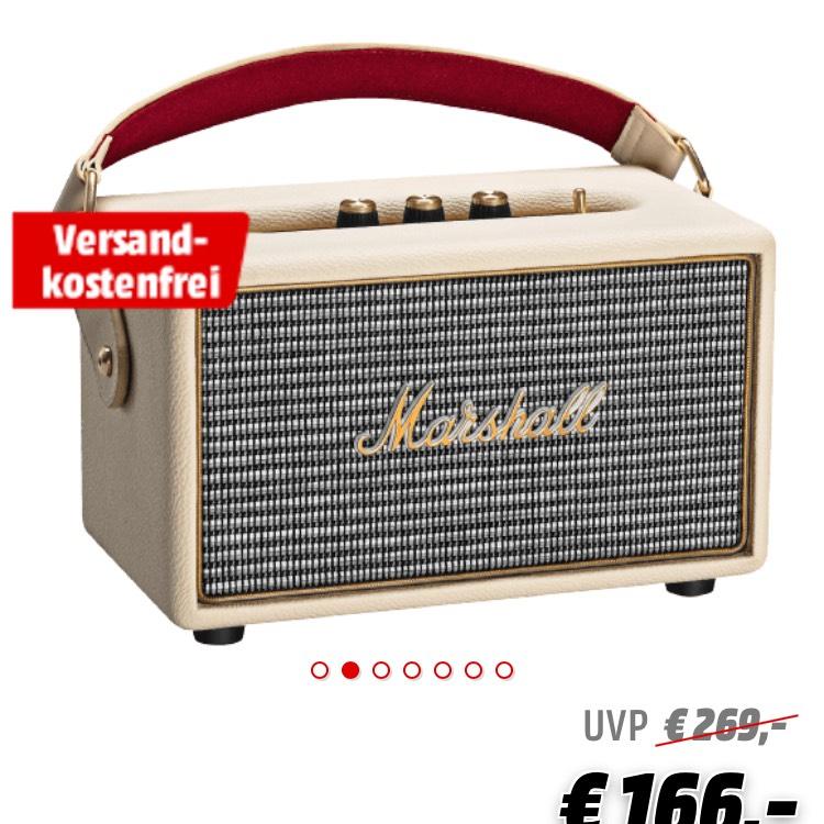 Marshall Kilburn - Bluetooth Lautsprecher mit Akku - Creme