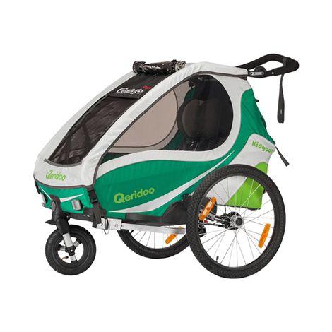 (Baby-Walz.de) Qeridoo Kidsgoo1 Fahradanhänger zum Bestprice mit Gutschein + Cashback