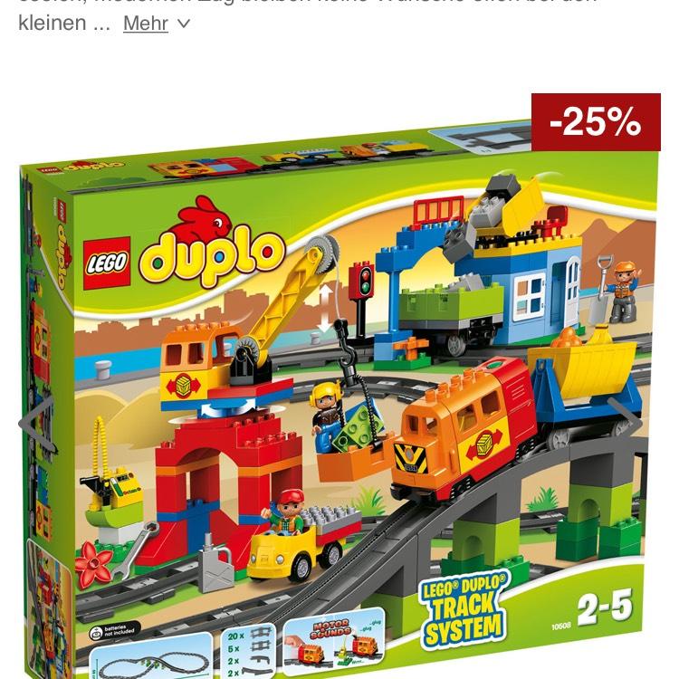 [Karstadt.de]Lego Duplo-Eisenbahn Super Set 10508 zum Bestpreis