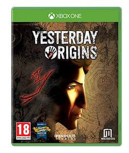 Yesterday Origins (Xbox One) für 9€ (Game UK)
