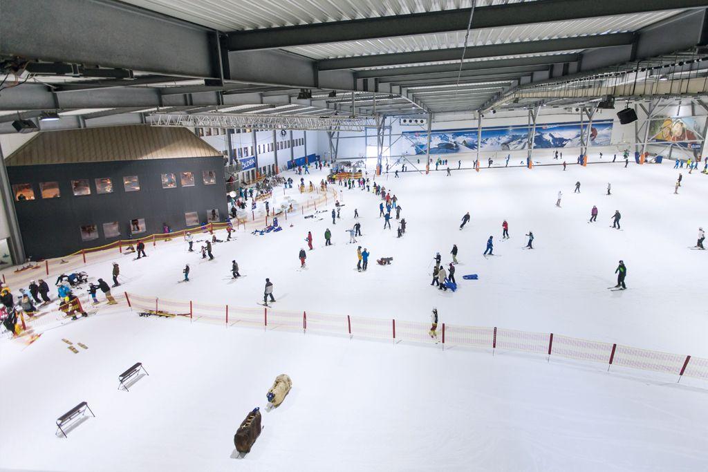 Snowdome Bispingen mit Budni