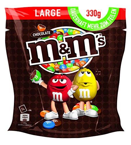 [Amazon] M&M'S Choco / Schokoladenlinsen in knuspriger Zuckerhülle / Bunter Knabberspaß für die ganze Familie / 5 x 330g Beutel