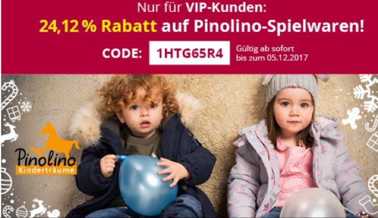 Für Takko vip Kunden 24,12% Rabatt auf pinolino Spielwaren