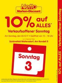 10% auf Alles bei Netto MD und Edeka Berlin