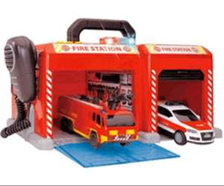 Dickie Toys Feuerwehrstation