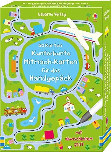 [Amazon Prime] Kunterbunte Mitmach-Karten für das Handgepäck