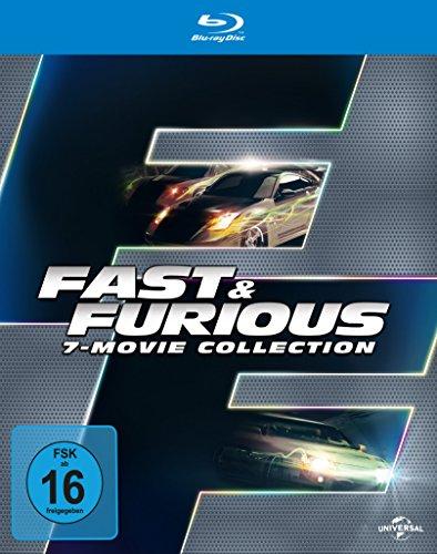 Fast & Furious 7-Movie Collection (Blu-ray Box) für 15,39€ Thalia