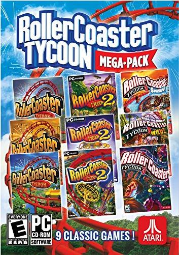 Rollercoaster Tycoon Mega Pack (RollerCoaster Tycoon, RollerCoaster Tycoon 2, and RollerCoaster Tycoon 3 + 6 DLCs) [Steam] für 6.79€ @ CDkeys