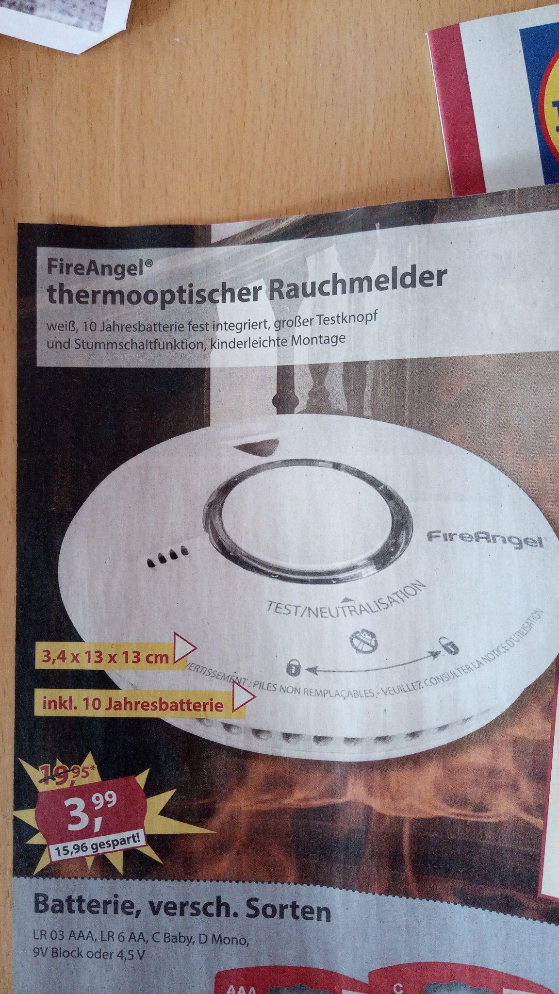 FireAngel Thermooptischer Rauchmelder