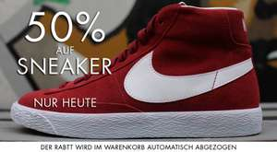 50% auf alle Sneaker bei Brooks.de