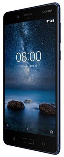 "Nokia 8: 5,3"" QHD, Snapdragon 835, 6GB RAM,128GB UFS 2.1,13 MP f/2.0 Kamera, USB-C, Wlan ac, NFC, Metall Rückseite, Android 7.1 für 521,81€ (Amazon.it)"