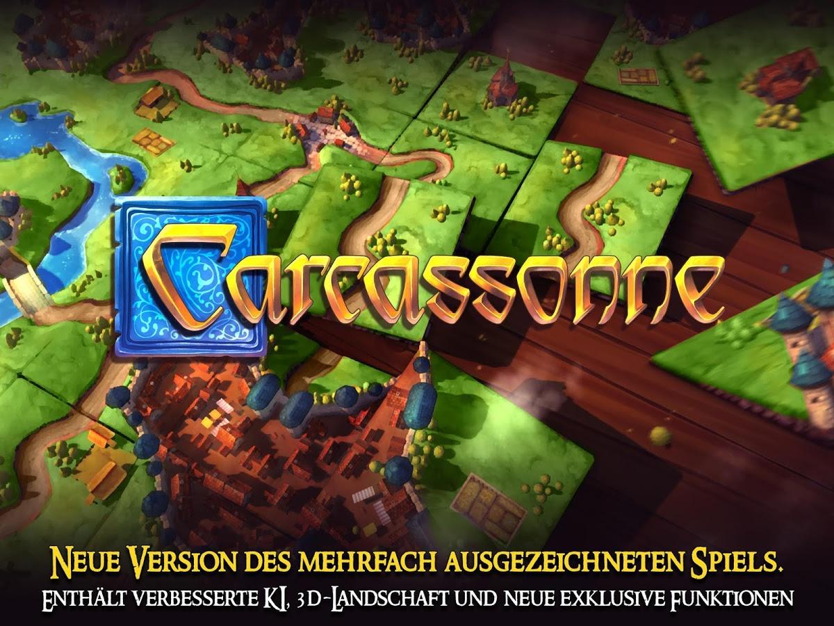 [Google Play Store] Carcassonne (neue offizielle App) zum Einführungspreis 1,99€