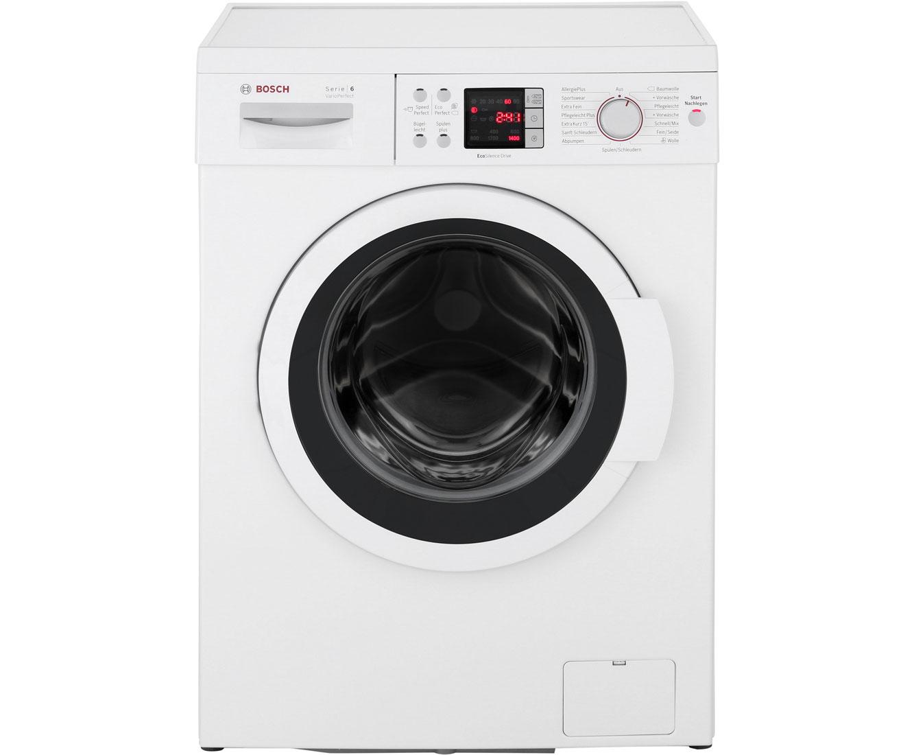 Bosch WAQ28422 Serie 6 Waschmaschine / A+++ / 1400 UpM / 7 kg [Amazon und MediaMarkt]