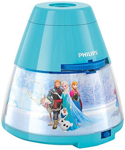 Philips Disney Frozen (Die Eiskönigin) LED Projektor Tischleuchte, hellblau