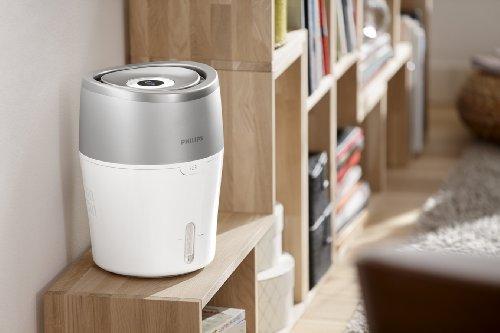 [Amazon - Blitzangebot] Philips HU4803/01 Luftbefeuchter (bis zu 25m², hygienische NanoCloud-Technologie, leiser Nachtmodus, Automodus) 73,99 €