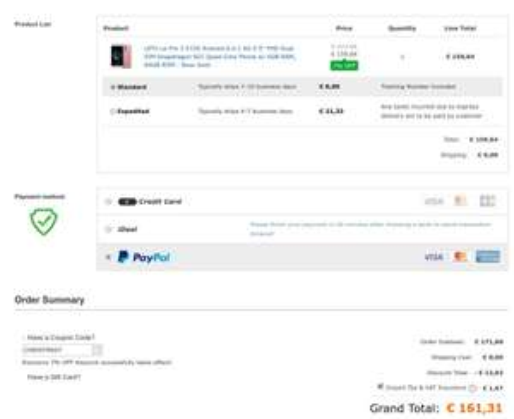 Leeco Le Pro 3 X720 6GB 64GB SD 821 frei Haus für 161,31 € = neuer Bestpreis!