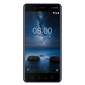 Nokia 8 Dual SIM in blau 17% unter Idealo bei amazon.es