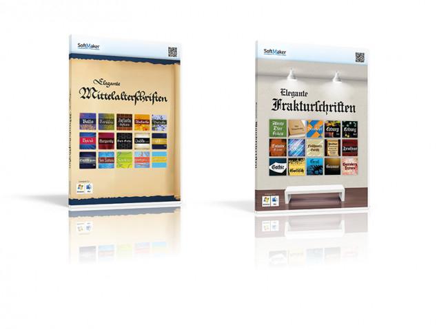 2 Schriftenpakete jetzt kostenlos statt 39,9€ erhalten
