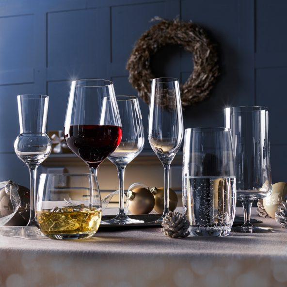 Aldi Nord/Süd Crofton/Home Creation (Schott) je 6 Gläser (1Karton) Wasser, Whiskey, Grappa, Wein usw. ab 11.12./07.12.
