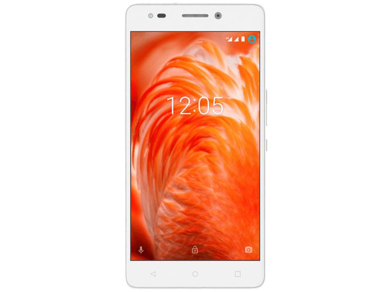 ( Mediamarkt ) BQ Aquaris M 2017 16 GB Weiß Dual SIM 2 GB RAM Android 6.0 1920x1080