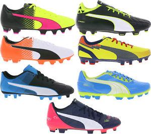Puma Fußballschuhe evoSPEED, V5.11, Adreno II, evoTouch, evoPOWER 7 Modelle@ebay