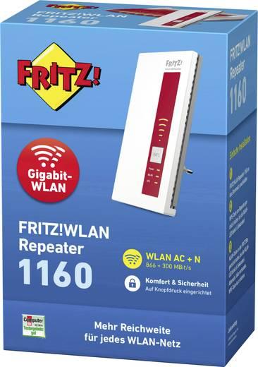[Conrad] AVM FRITZ!WLAN Repeater 1160 (Dual-WLAN AC + N bis zu 866 MBit/s 5 GHz + 300 MBit/s 2,4 GHz)