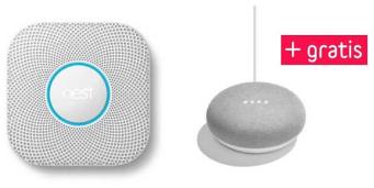 Nest Produkt kaufen und Google Home Mini gratis dazu - z.B. Nest Protect 2. Gen + Google Home Mini für 103€ statt 148€