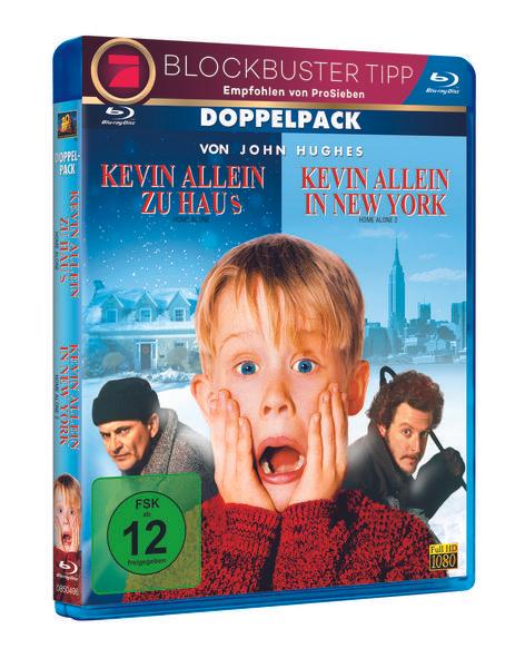 [Thalia] Kevin - Allein zu Haus & New York 1 & 2 Box - 2 Blu-ray