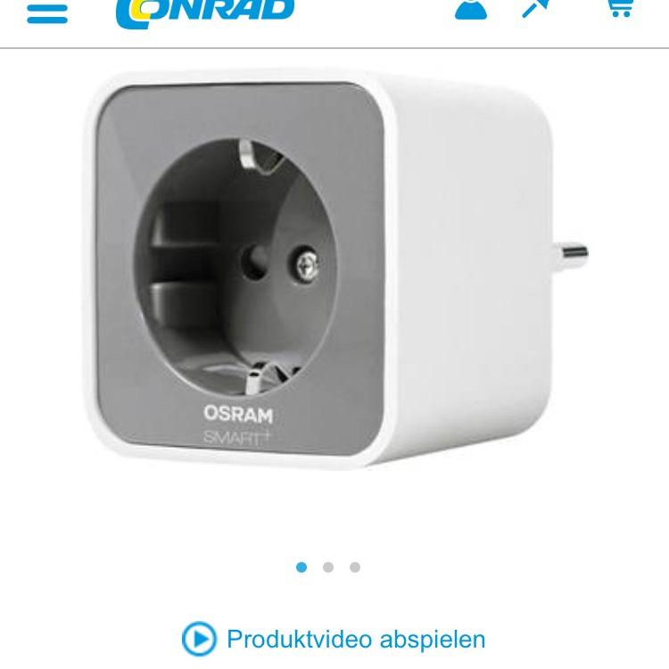 Osram Plug + Zwischenstecker