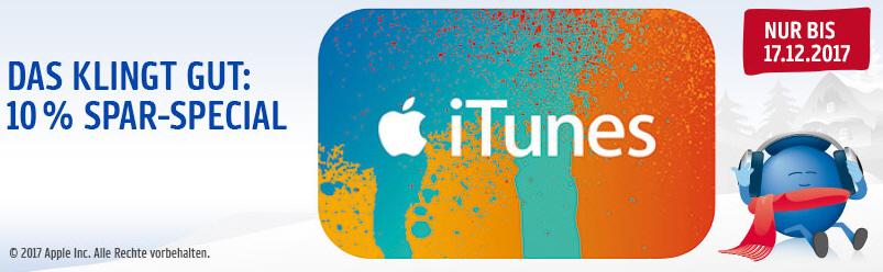 [PAYBACK] 25€ iTunes Guthaben für 2049 Punkte (20,49 €) ~ 18 % Rabatt