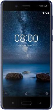 Digitec Schweiz Nokia 8 mit 128 GB internen Speicher und 6 GB Arbeitsspeicher Dual Sim Hybrid-Slot für 549 CHF