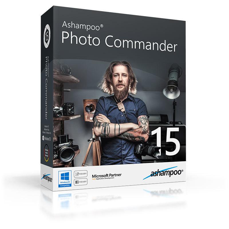 Ashampoo Photo Commander 15: Vollversion als kostenloser Adventskalender-Download