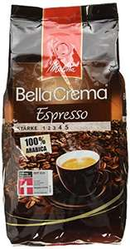 [Amazon Plus Produkt] Melitta BellaCrema Espresso 1000g ganze Bohne 5,99€