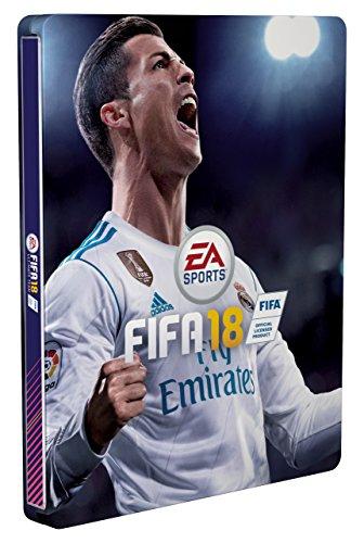 FIFA 18 - Steelbook  - (Enthält kein Spiel) für 2,35 EUR inkl. 1 EUR Amazon Video Gutschein