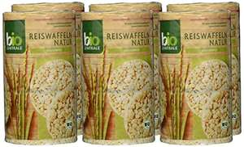 [Amazon Plus Produkt oder Sparabo] BioZentrale Bio Reiswaffeln Natur, 6er Pack (6x 100 g) Sparabo 5% nur 2,81€ oder 15% nur 2,52€