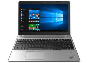 Lenovo - Thinkpad E570 mit Full-HD IPS 15,6 Zoll, i3-7100U, 180GB SSD, Windows