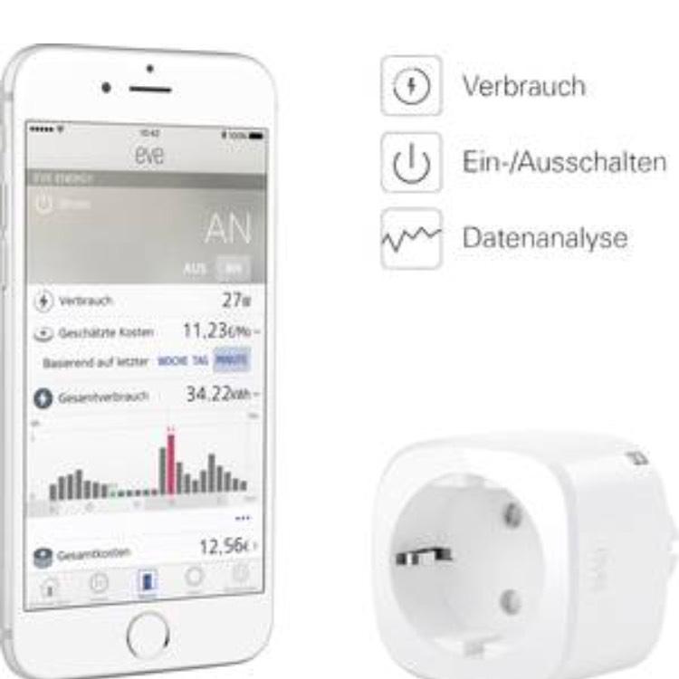 [Conrad.de] Elgato Eve Energy - Smart Home Plug & Apple Homekit