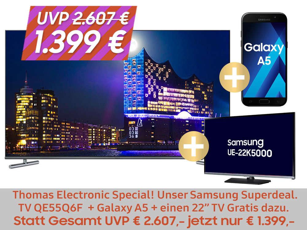 Samsung QE55Q6F QLED FLAT UHD TV
