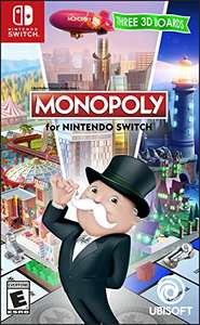 Monopoly - Nintendo Switch (23 euro inclusive versand) Amazon.com