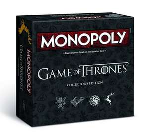 Monopoly: Game of Thrones Collector's Edition für 31,99€ (Amazon + Toyrus)