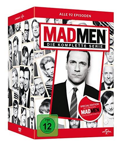 Mad Men – Die komplette Serie inkl. Visitenkarten-Etui (30 DVDs) für 32,97€