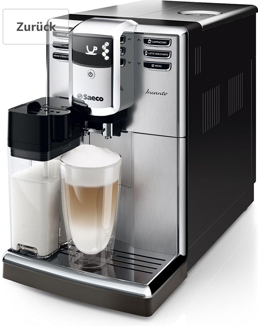 (Amazon Blitzangebot) Saeco Incanto 8917/01 Kaffeevollautomat
