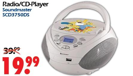 *LOKAL OFFLINE* Günstiger Radio/CD-Player mit USB und MP3-Wiedergabe