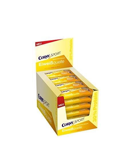 Corny Sport Buttermilch-Zitrone, 24er Pack (24 x 35 g) (30% Protein) [Amazon.de Prime]