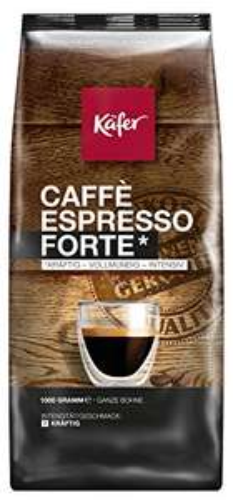 [AMAZON PRIME] Käfer Espresso Forte, ganze Bohne, 1.000 g, 1er Pack (1 x 1 kg) als Sparabo für 6,65 €