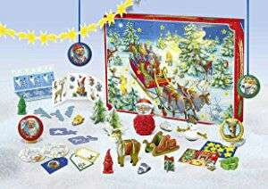 Amazon : Ravensburger  Adventskalender 2017 - World of Creativity - Nur 6,99
