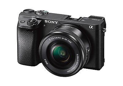 Ebay: SONY Alpha 6300 Systemkamera inkl. 16-50 mm Objektiv Schwarz NEU & OVP***