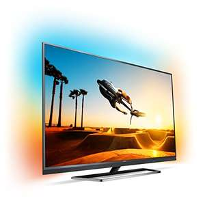 [Amazon.de] Philips PUS7502 4K UHD TV mit 55 Zoll, echtes 10 bit (HDR10, HLG), 120 Hz (nativ), 3-fach Ambilight