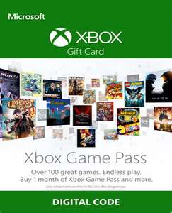 Xbox Game Pass 1 Monat / 30 Tage Code