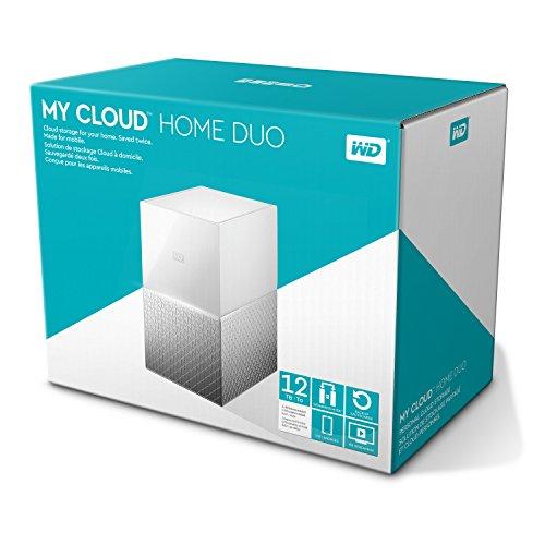 [amazon.es] WD My Cloud Home Duo 12 TB (2 x 6TB, WLAN, GbE, 2x USB 3.0) WDBMUT0120JWT-EESN